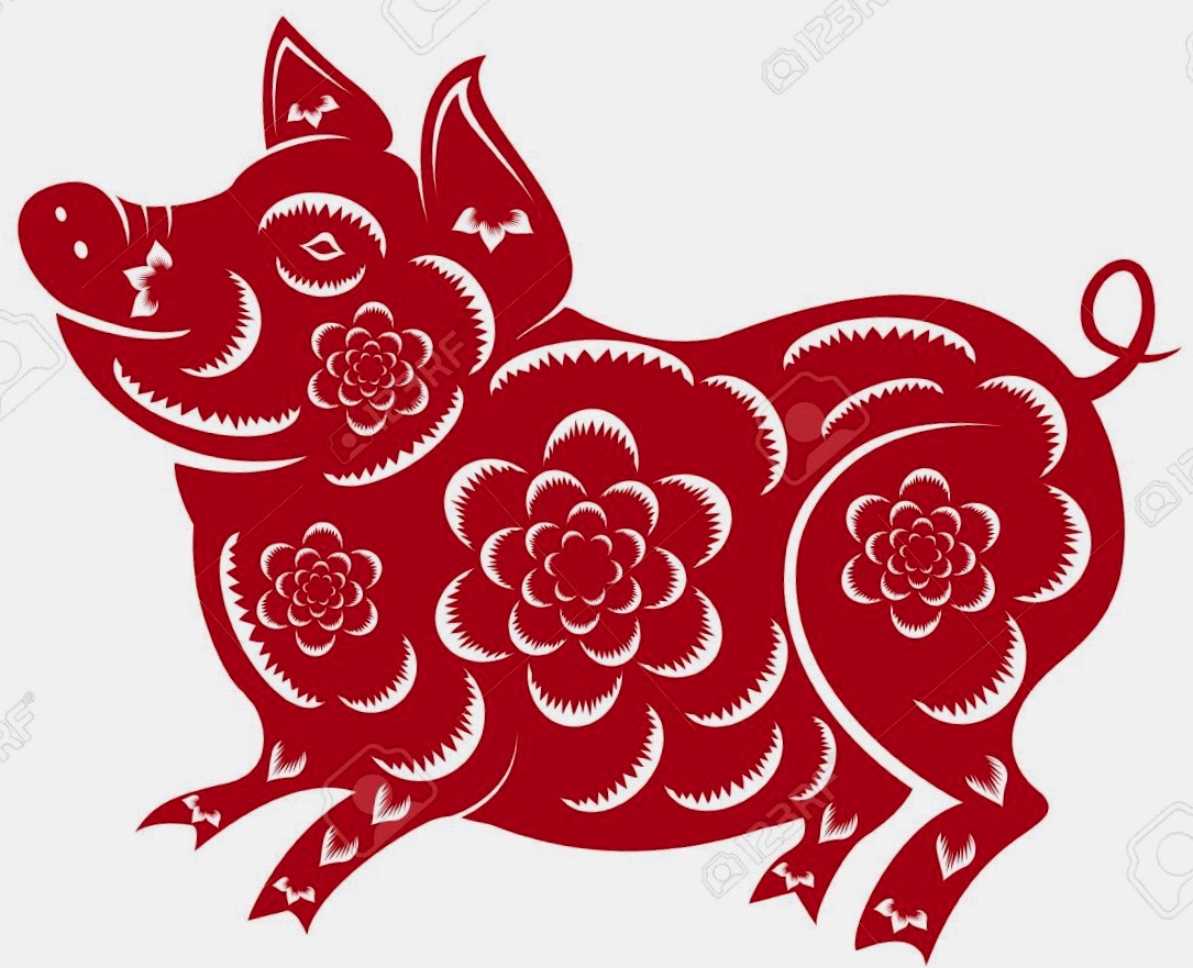 2019YearOfPig Red